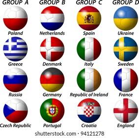 Euro 2012 Group Light