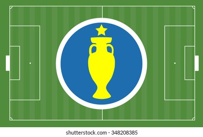 Euro 2016 and Football Pitch