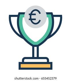 Euro Cup Vector Icon