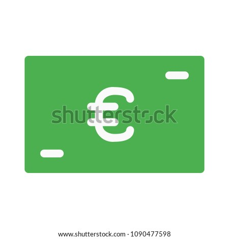 Euro Gift Card Stock Vector Royalty Free 1090477598 Shutterstock
