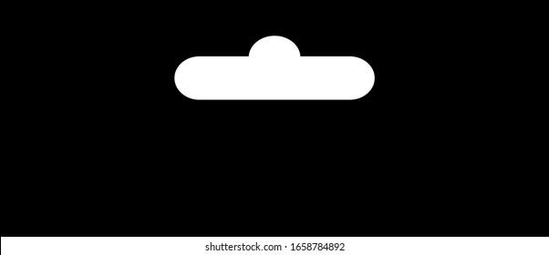 Euro hook icon, vector illustration
