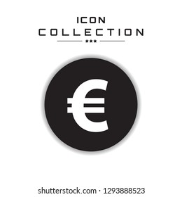 Euro sign.Collection of icons for  banking, web site, mobile, bu