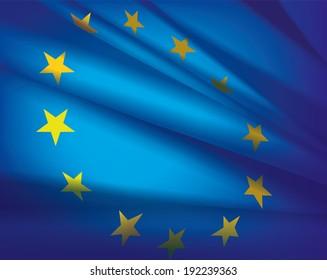 Europe flag - beautiful  background.