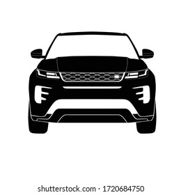 Europe Suv Front View Icon