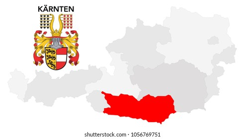 european country austria and the federal state of Kärnten (carinthia)