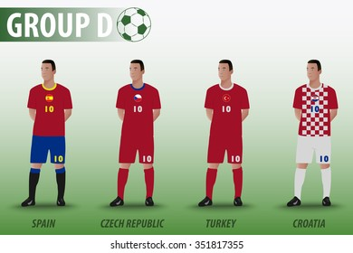 European Football Group D
