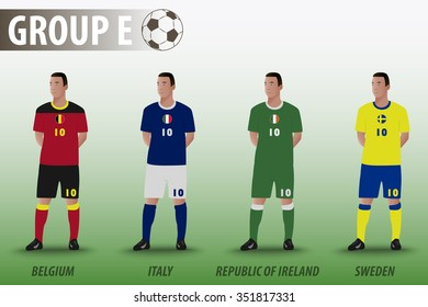 European Football Group E