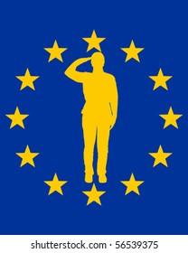 European salute