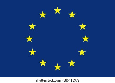 European union background. Europe flag. EU