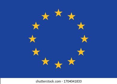 European Union flag Europe country national