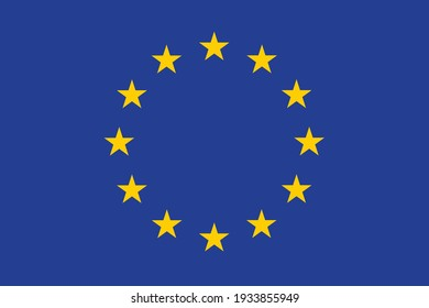 European Union flag Europe country national.