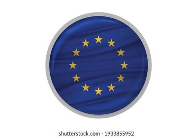 European Union flag Europe country national.
