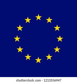 European union flag symbol