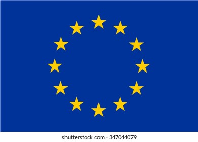 European Union Flag vector image