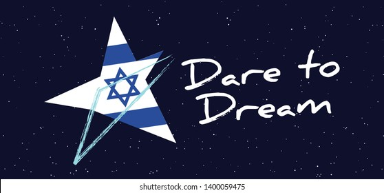 Eurovision song contest 2019 Israel Flag Israël Fun Funny Music notes love heart Logo EURO Europe sign signs Grand Final party musical symbol countries country festival pattern Dare to dream songs ESF