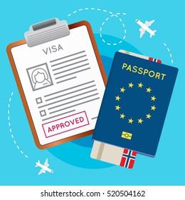 Norway Passport Stamp Images Stock Photos Amp Vectors