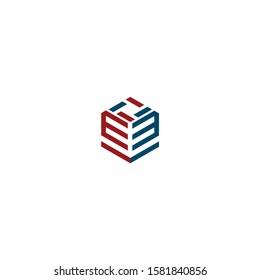 ev initial logo line  modern
