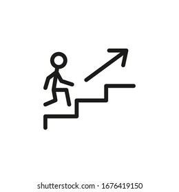 evacuation stairs up and down to move