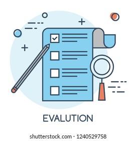 Evalution Flat Icon