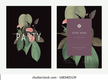 Invitation Template Images Stock Photos Vectors