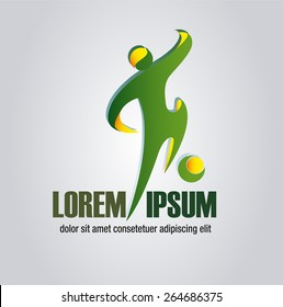 event logo football or soccer match