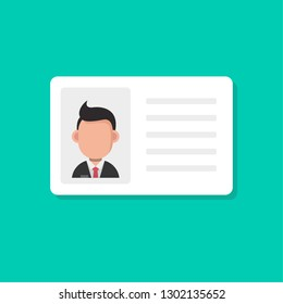 Event Security id card set with lanyard