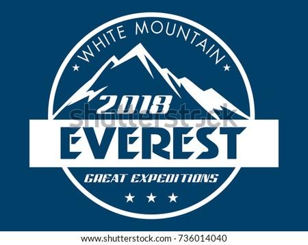 Everest snowbound Himalayas mountain