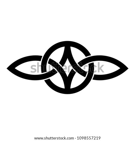 Everlasting Love Symbol Celtic Knot Stock Vector Royalty Free