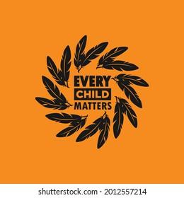 Every Child Matters Logo. Vector Illustration.