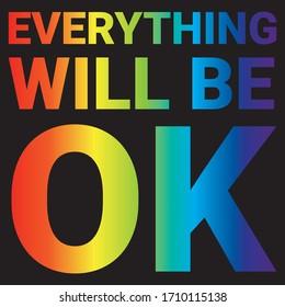 Everything will be OK rainbow