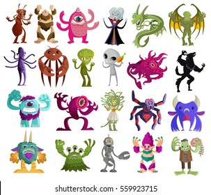 evil cute tiny monsters pack