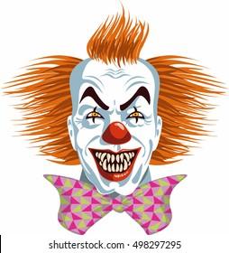 evil killer clown