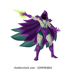 evil magician warlock
