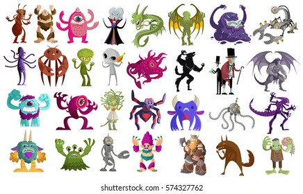 evil monsters creatures