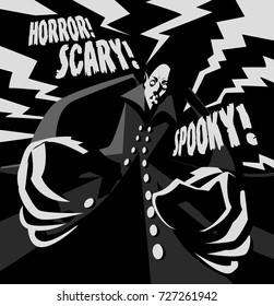 evil vintage vampire movie horror poster