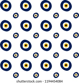 EvilEyes pattern. It can be used as wallpaper, gift or wrapping paper, notebook cover, background card for gift card, background print for table or poster.