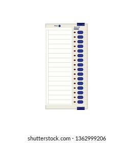 EVM electronic voting machine