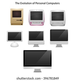 Old Modern Monitor Stock Vectors, Images & Vector Art