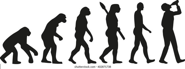 evolution of man images  stock photos  u0026 vectors