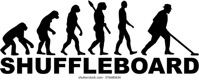 Evolution shuffleboard