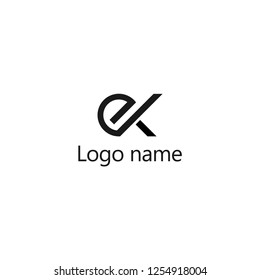 EX Letter Logo Design, Premium Vector Creative Modern identity design, vector eps