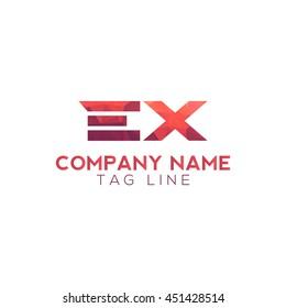 ex polygonal logo