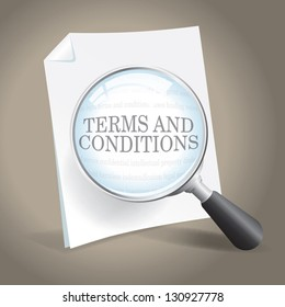 Examining the Terms and Conditions of a Legal Agreement.