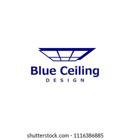 Examples of logo design and company to repair ceiling of the House/building