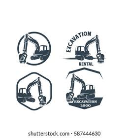 Excavation Logo Set