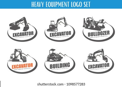 Excavation Logo Template Set