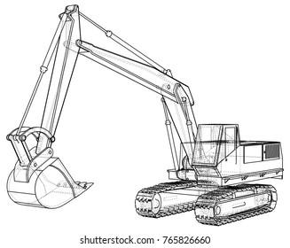 Excavator Track Images, Stock Photos & Vectors | Shutterstock