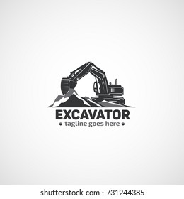 Excavator, Heavy Equipment.