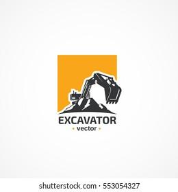 Excavator logo.