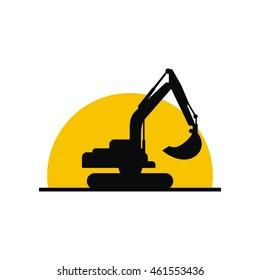 Excavator logo icon